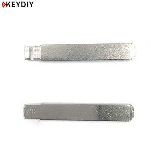KEYDIY 10 шт./лот KD металлический пустой флип VVDI/JMD пульт VA2 ключ лезвие #58 для Citroen Triumph NO. 58 лезвие без паза