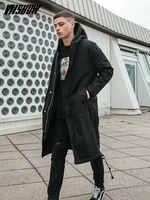 VIISHOW hommes veste d'hiver marque hommes parc 2018 nouveau Hiver Homme veste à capuche Manteau Homme Hiver Manteau d'hiver hommes MC2088174
