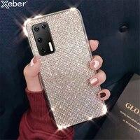 Custodia in strass Glitter di lusso per Samsung Galaxy S20 Ultra S10 S10E S9 S8 Plus Cover in Silicone morbido con diamante lucido Bling
