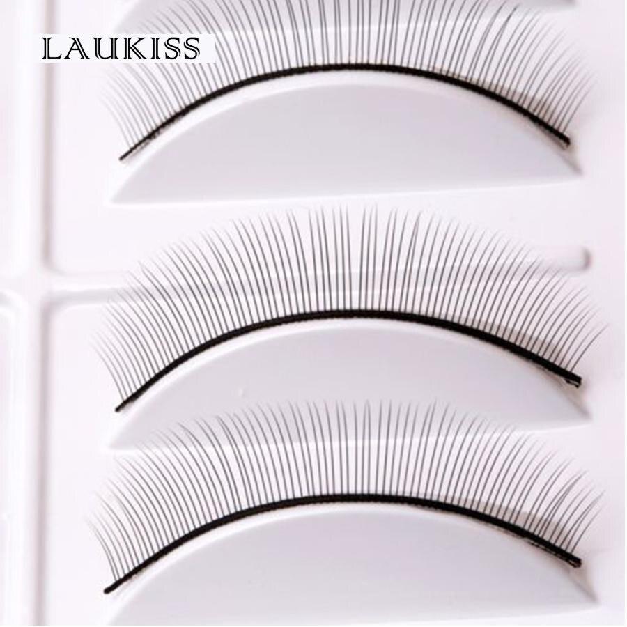 New 10 Pairs/Set False Eyelashes Handmade Training Lashes For Beginners Teaching Lashes Eye Extension Tools Practice Hot Sale