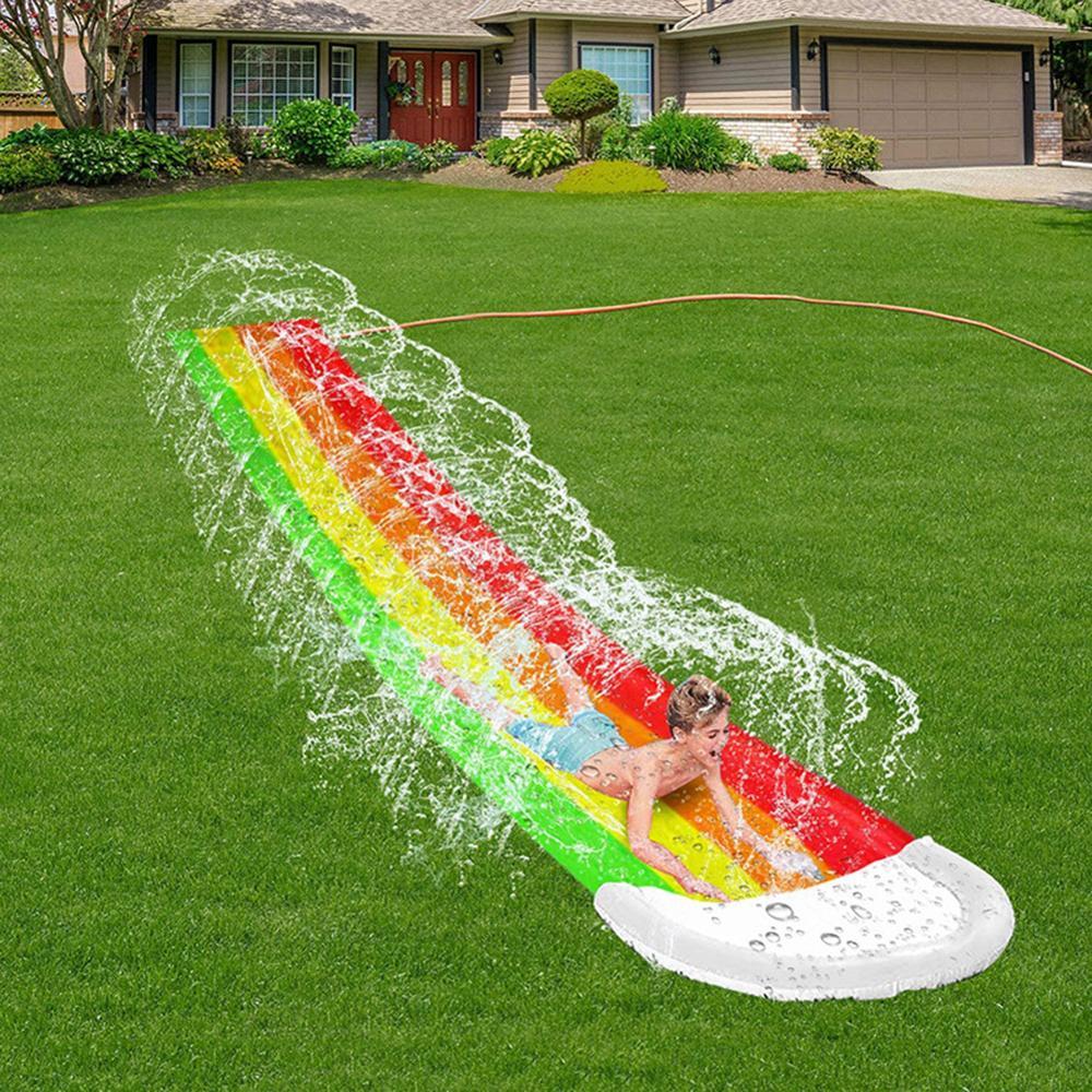 Centrum gier podwórko dzieci zabawki dla dorosłych nadmuchiwana zjeżdżalnia wodna baseny dzieci dzieci letnie podwórko zewnętrzne zabawki wodne