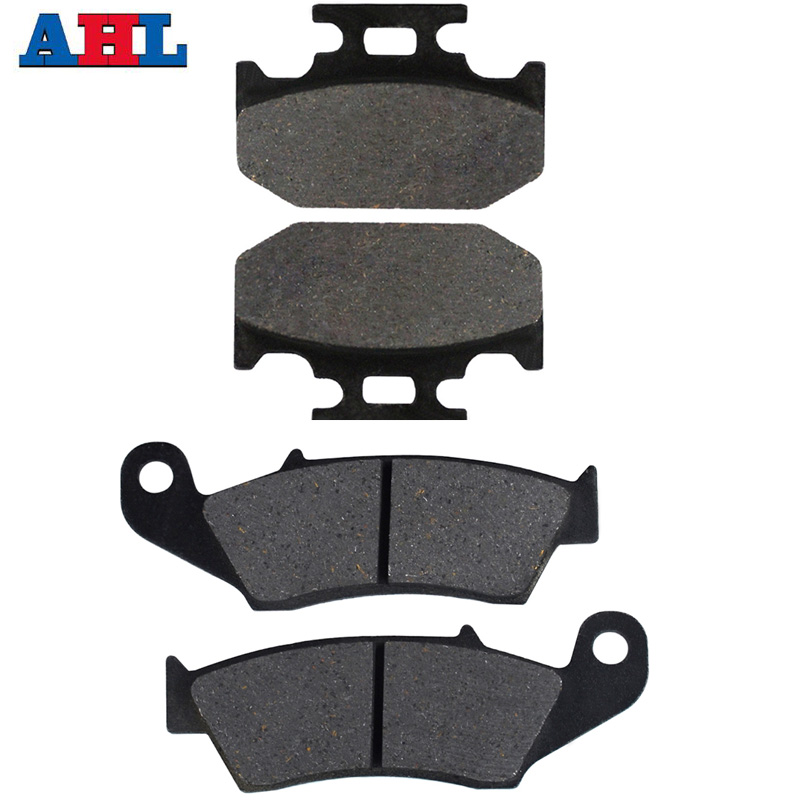 Motorcycle Front and Rear Brake Pads For SUZUKI DR 350 DR350 1997-1999 <font><b>DR650</b></font> DR 6501996-2016 RMX250 RMX 250 1996-1998 image