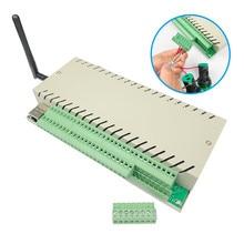 Tablero de relé ethernet wifi, controlador de servidor web, Automatización del hogar inteligente, funciona con la aplicación LAN, WAN, PC y teléfono