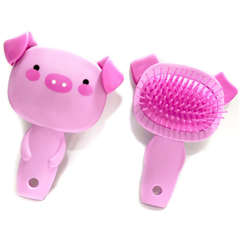 Hair Brush Scalp Massage Cute Cartoon Pig Combs For Children Women Girls Styling Tool Hair Comb  Peigne Cheveux