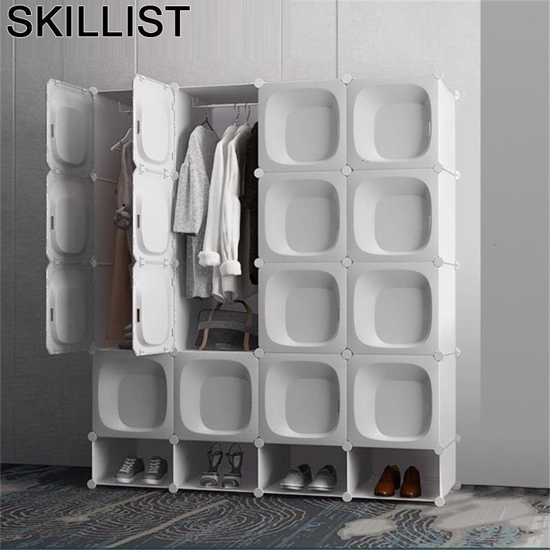 Tela Armario Garderobe Armoire Rangement Moveis Para Casa Bedroom Furniture Closet Guarda Roupa Mueble De Dormitorio Wardrobe