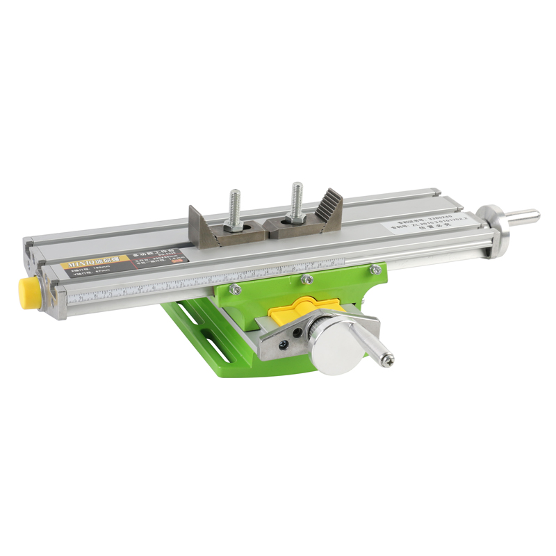 New Upgrade Miniature Precision Multifunction Milling Machine Bench Drill Vise Worktable X Y-axis Adjustment Coordinate Table