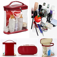 Waterproof Women Cosmetic Bag Large Capacity Travel Organizer Beauty Product Fem