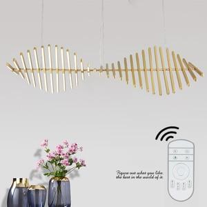 Image 3 - Modern Italy Designer Chandelier Lighting  RC dimming Chandelier  Hanging Light  Office/Dinning Room Light Fixture  Suspension
