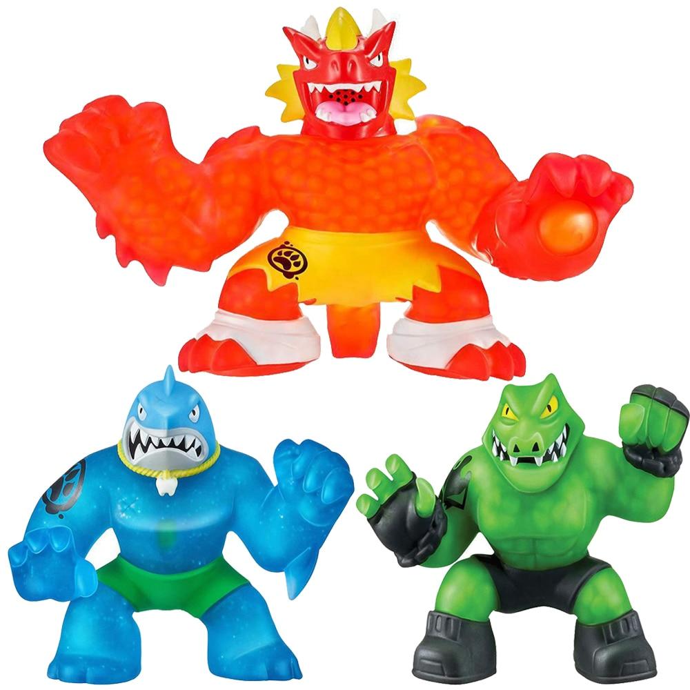 Лидер продаж! Goo Jit игры Супер Герои игрушки-антистресс сжимаемые мягкие куклы фигурки коллекционные для детей подарок Zu -A1