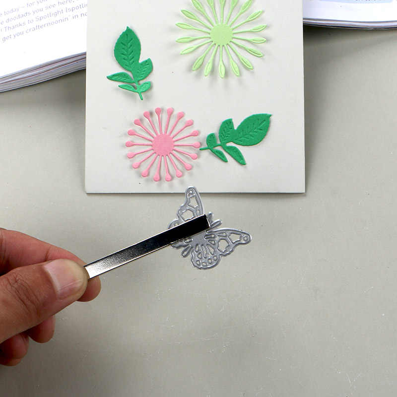 Stanzen werkzeuge silber beschichtet magnet stange einfach für picking ihre schneiden stirbt handliche ihre crafting projekte