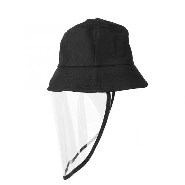 Protective Sunproof Fisherman's  Hats with Anti-Saliva Transparent Face Shield Protection Equipment Hot Sale 2