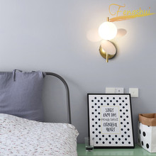 Modern LED Wall Lamp Flower Branch Macaron Small Lamp Nordic Simple Bedside Corridor Background Wall Sconces Bedroom Wall Lamps bokt modern style e27 led wall lamps nordic macaron wall lights for passage corridor bedroom bedside lamp wall sconces ac90 260v