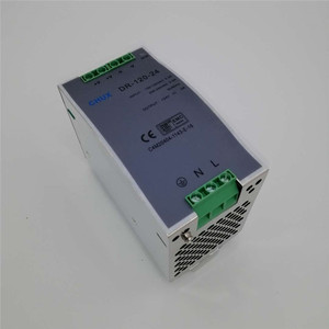 Image 3 - מסילת Din החלפת ספק כוח 120W 12v 24v 48v DC AC DR120W פלט יחיד LED נהג SMPS מתג שנאי