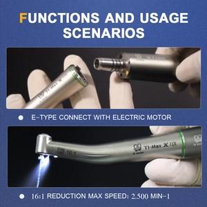 Image 5 - ทันตกรรมไฟฟ้ามอเตอร์Handpiece 16:1ลดContra Angle Handpieceเดียวสเปรย์น้ำด้านในEndodonticวัสดุ