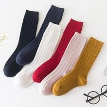 Menoea-calcetines lisos para niñas, medias informales a la moda para bebés, accesorios suaves, otoño e invierno, 2020