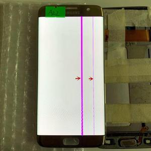 Image 5 - Pantalla lcd Original AMOLED de 5,5 pulgadas para Samsung Galaxy S7 edge, G935U, G935F, pantalla táctil, digitalizador con punto negro y línea