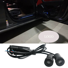 2pcs Car Styling For BMW Logo Projector Shadow LED Door Light Welcome Interior Lighting Ambient Atmosphere Lamp