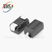 100PCS SMA SS210 100V 2A SR2100 DO-214AC SMD