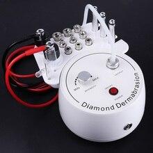 Profesjonalna maszyna do mikrodermabrazji diamentowej 3 in1 woda Spray złuszczanie urządzenie kosmetyczne usuwanie zmarszczek twarzy Peeling narzędzia