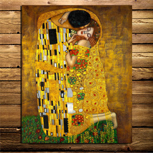 Gustav Klimt Best Painting Canvas Prints Living Room Home Decoration Modern Wall Art Oil Posters Pictures