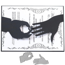 Grite New Engagement Wedding Ring Metal Steel Cutting Dies S