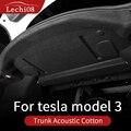 trim for Tesla model 3 accessories/car 2016-2021 accessories model 3 tesla three Trunk sound insulation cotton