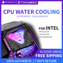 Water-Cooling-Block Barrowch Intel 115x1200 for X99/x299-Future Mechanical-Style CPU