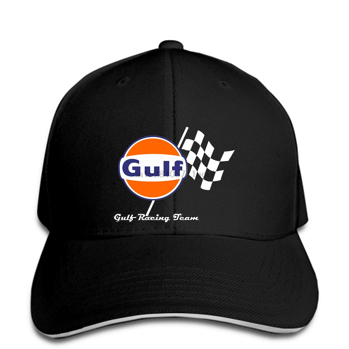 Baseball cap Vintage Gulf Racing Team Men's Grey Baseball caps