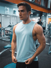 New Mens Gyms Fitness Tank Tops Bodybuilding Workout Sleeveless Shirt Male Summer Casual Fashion Stringer Singlet Brand Clothing(China)