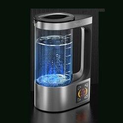 Hidrogênio rico chaleira elétrica saudável gerador rico em hidrogênio eletrólise máquina de aquecimento de água 2l para manual inglês