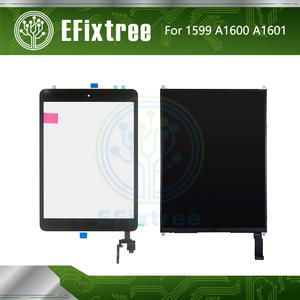 Touch-Screen Board Sticker Lcd-Display iPad Home-Button Mini A1601 with for 3 And A1599