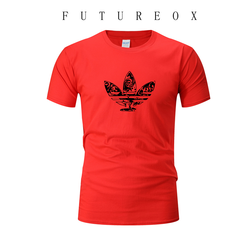 Summer Men 39 s Brand Top T Shirt Cotton Short Sleeve Casual T Shirt Running Sports Breathable Fitness Wear in Running T Shirts from Sports amp Entertainment
