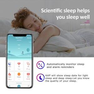 Image 4 - Wearpai FitnessTracker SmartWatch Men Women HeartRate Monitor Calories Pedometer waterproof sport wristwatch for Android & IOS