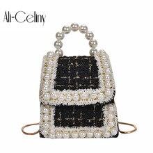 Новая повседневная модная сумка женская сумка корейская версия шерсти сумка через плечо Маленькая квадратная сумка на цепочке