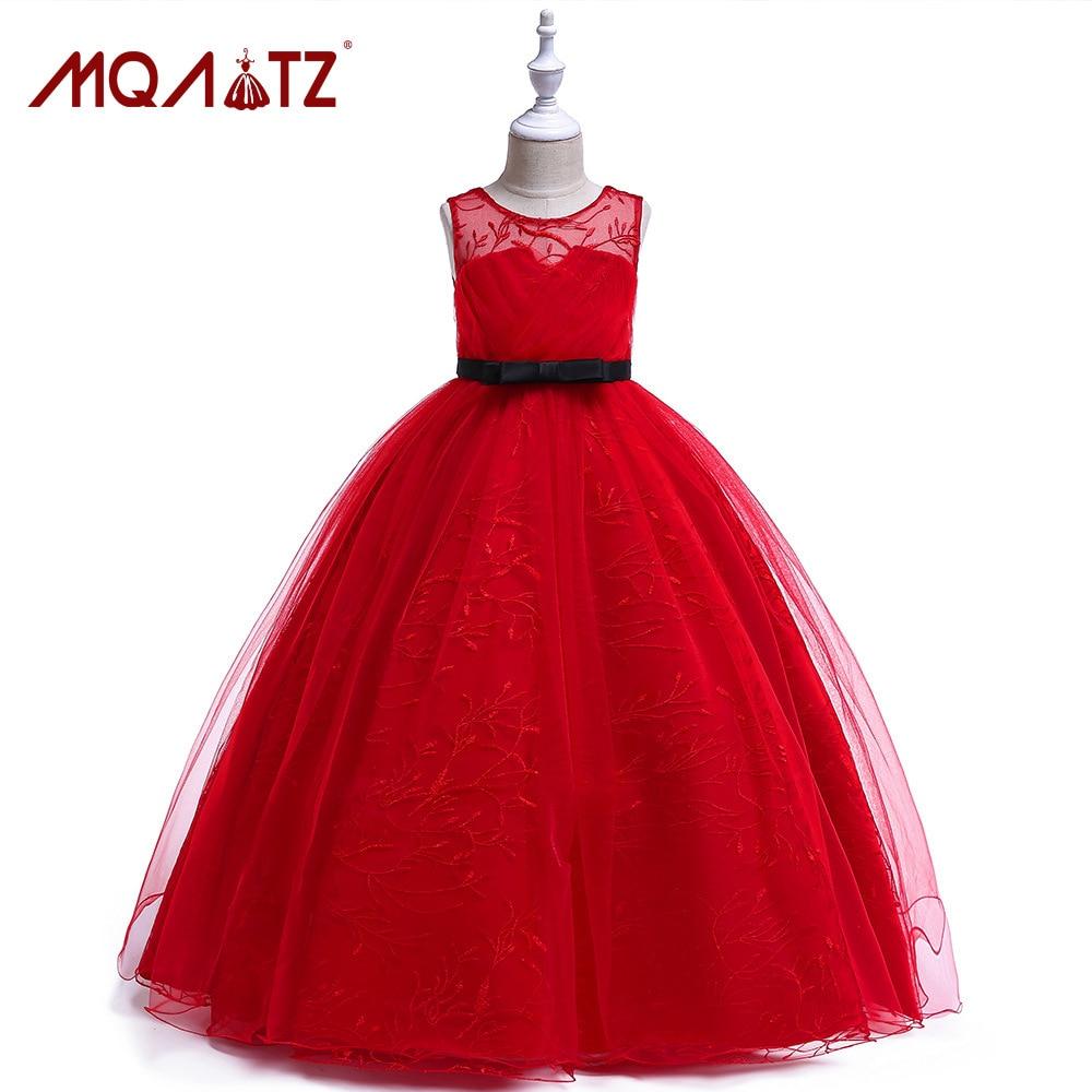 19 Years New Style Children Shirt Flower Boys/Flower Girls Wedding Dress Lace Puffy Mesh Dress CHILDREN'S Dress And To Long Skir