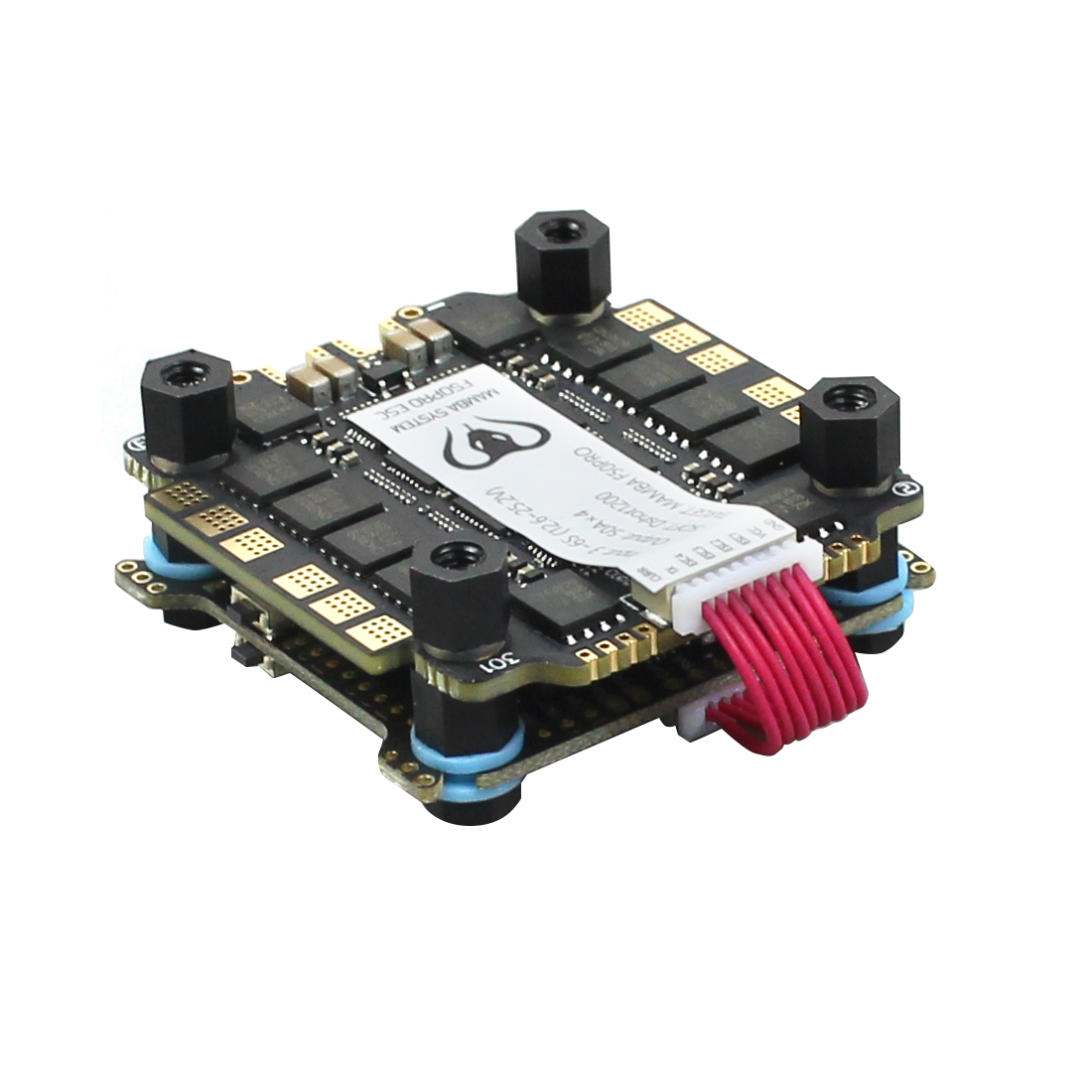 Diatone MAMBA F722S Betaflight Flight Controller OSD 5/9V 2A BEC & 50A 3-6S Blheli_32 Dshot1200 Brushless ESC for RC Drone