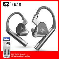 KZ E10 TWS Vero Wireless Hybrid Driver 1DD + 4BA Auricolare Bluetooth Bass Sport Auricolare Apt-X Built-In Dual microfono Auricolare