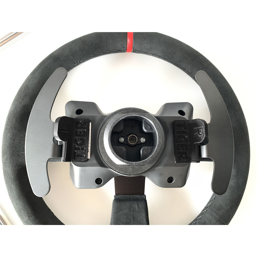 Left+Right Magnetic Paddle Modification Kit For Thrustmaster T300 Original Steering Wheel For Thrustmaster 599XX EVO 30