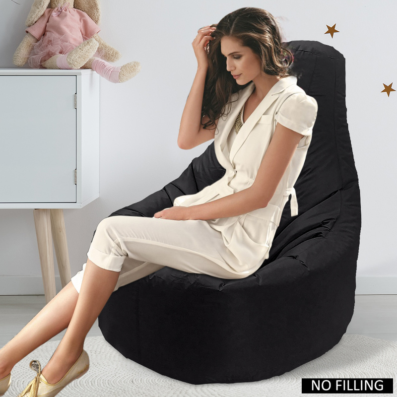Large Small Lazy Sofas Cover Chairs Without Filler Lounger Seat Bean Bag Pouf Puff Couch Tatami Living Room Bedroom Chair