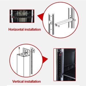 Image 5 - Pdu 19 Polegada rede gabinete distribuição de energia 10a 250 v 8 soquete universal proteção contra raios tomada de gabinete de engenharia contra surtos