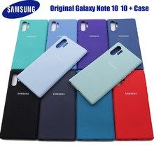 Lưu Ý 10 Plus Ốp Lưng Dành Cho Samsung Galaxy Samsung Galaxy Note 10 + Silicone Lỏng Bao Da Bảo Vệ Mềm Mượt Cảm Ứng Dùng Cho samsung Note10 Plus +