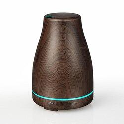 超音波空気加湿器エッセンシャルオイルディフューザーアロマランプアロマセラピー電気アロマディフューザーミストメーカー家庭木材