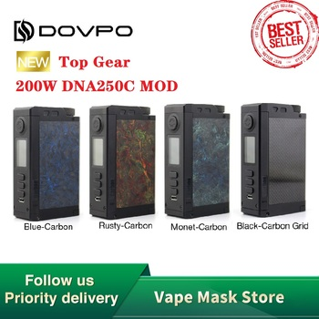 Original Dovpo Top Gear – Tanks & CNC Machined E-cigarette Vape Mod VS Odin/Topside Dual