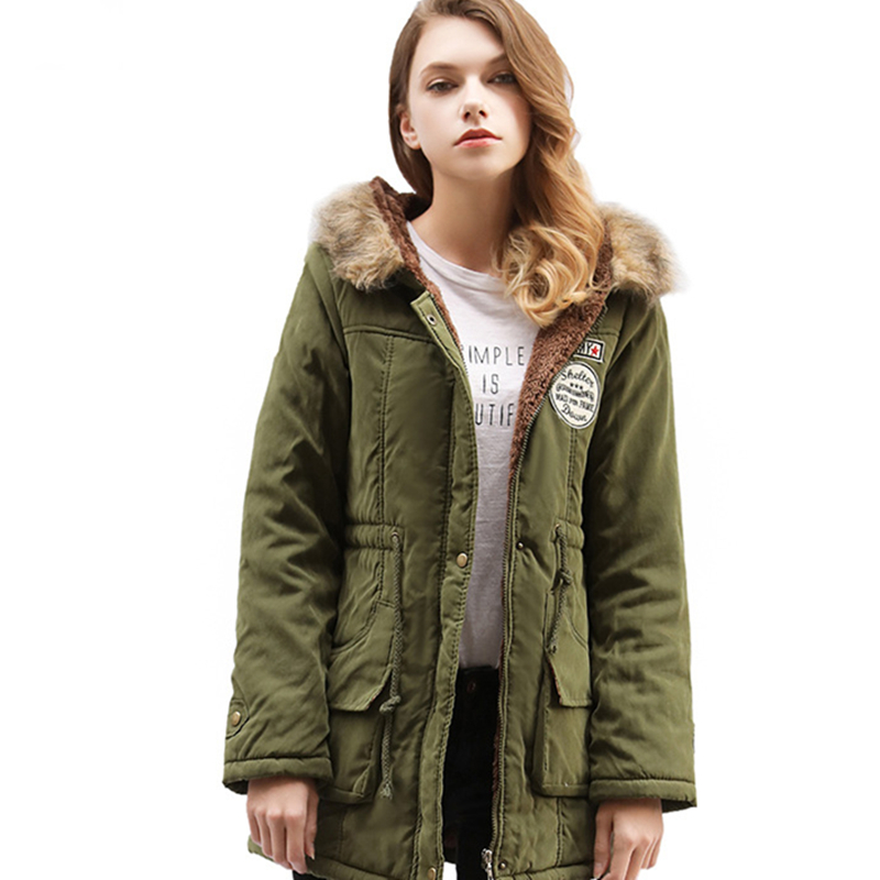 ZOGAA 2019 Women Parkas Female Winter Hooded Coat Thickening Cotton Jacket Womens Warm for 13 COLORS