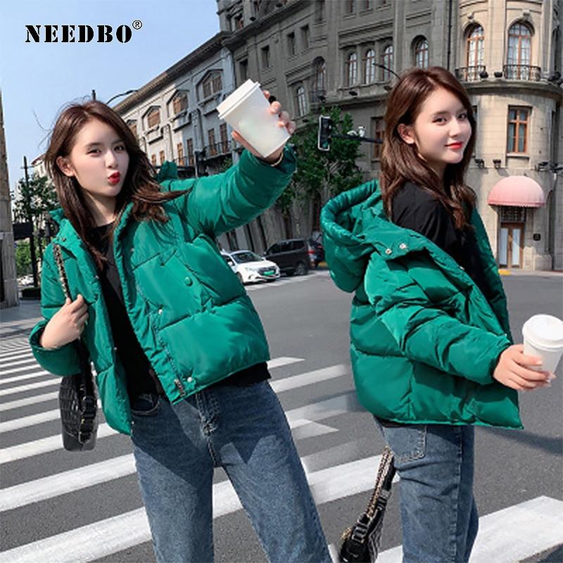 Winter Jacket Women Oversize Parka Winter Coat Women Hood Elegant Casual Slim Woman Winter Coats 2019 Feminine Women's Jacket
