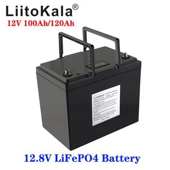 LiFePO4-batería de litio de 12V, 100Ah, 120Ah, BMS, 3000 ciclos, para RV, Campers, carrito de Golf, todoterreno, viento Solar, embarcaciones, barcos, Autocaravana 1