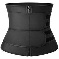 Black Zipper 2 Belts