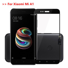 For xiaomi a1 Mi A1 MiA1 Mi 5X Mi 5 x Tempered Glass Full Cover Screen Protector Film on xiomi 5x Mi 5X 5.5