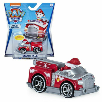 Paw patrol dog toy set cartoon character Marshall action figure alloy model patrol car child paw rescue car gift set
