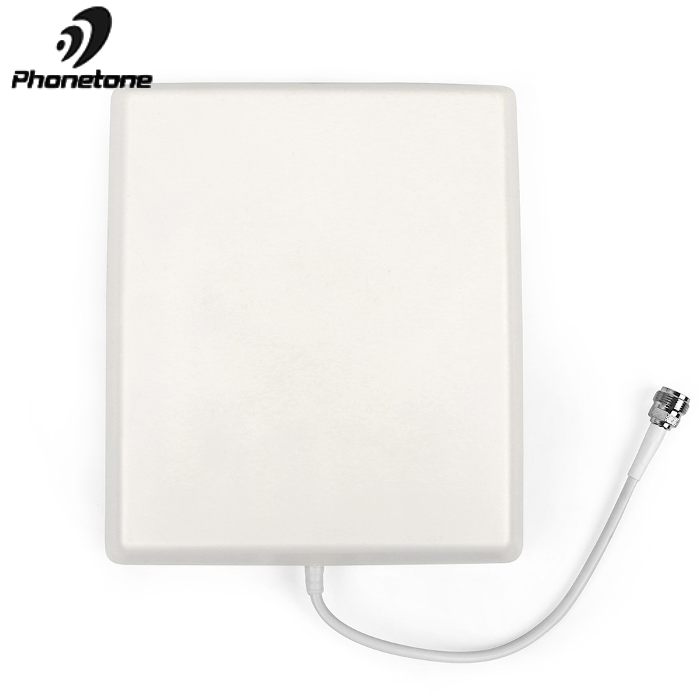 4G LTE Antenna 698-2700MHz Indoor Panel Antenna N Female For Mobile Phone Signal Booster Repeater Inside 4G Antenna For Booster